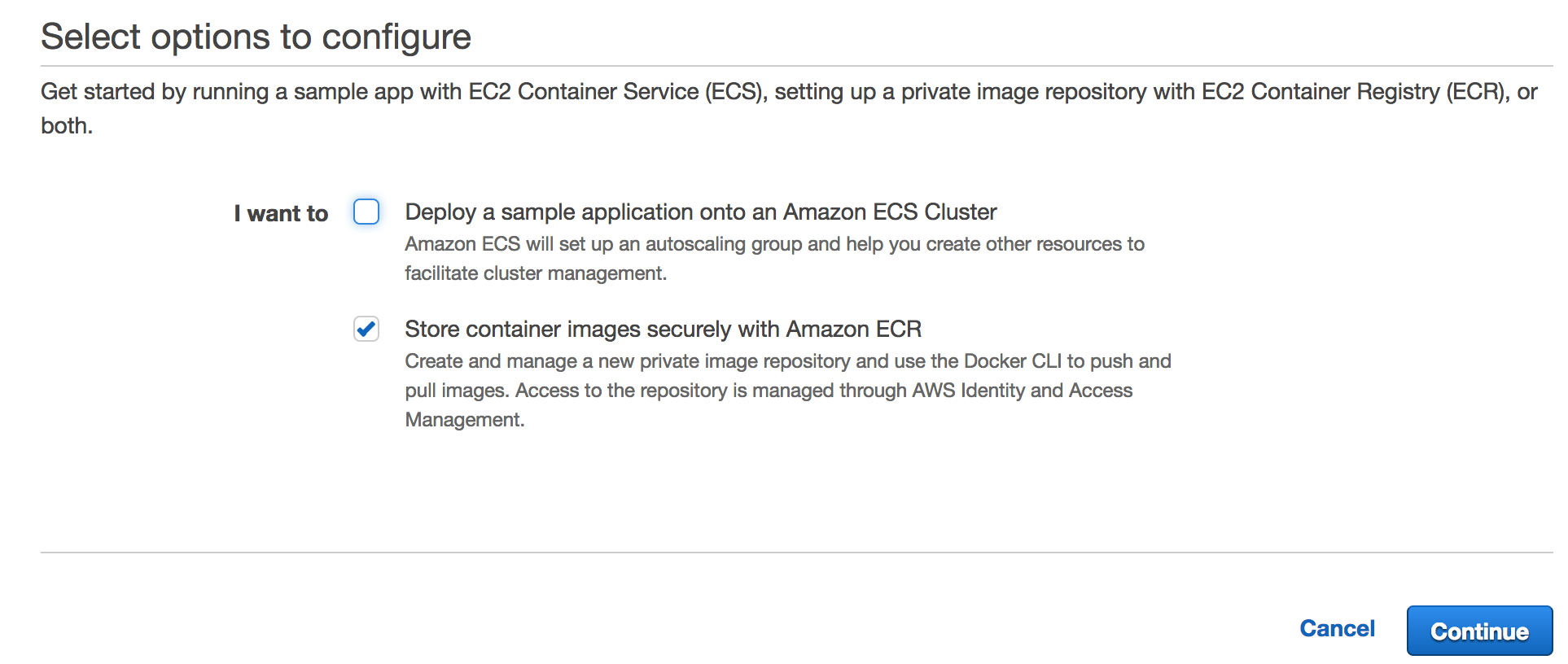 AWS ECR setup to access from other accounts - M  Tarık Yurt